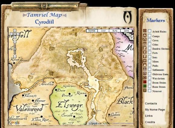 Карты из компьютерных игр