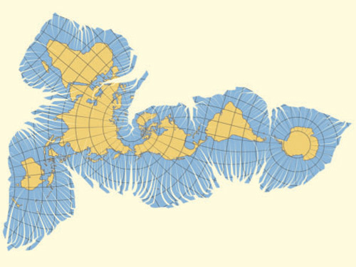 точная карта мира