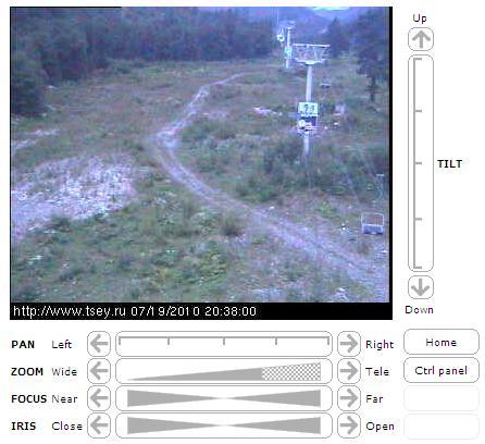 веб камеры Осетии