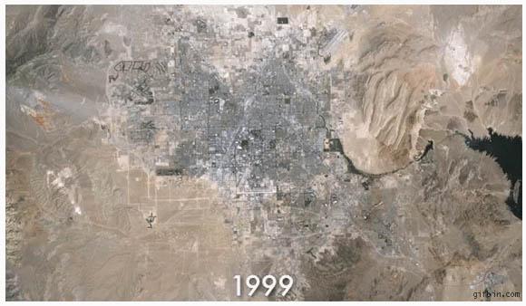 Карта урбанизации Лас-Вегаса