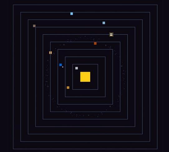 Карта солнечной системы в Internet Explorer