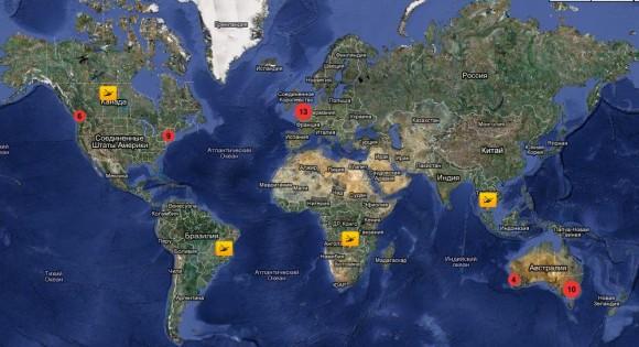 вертолетные панорамы мира