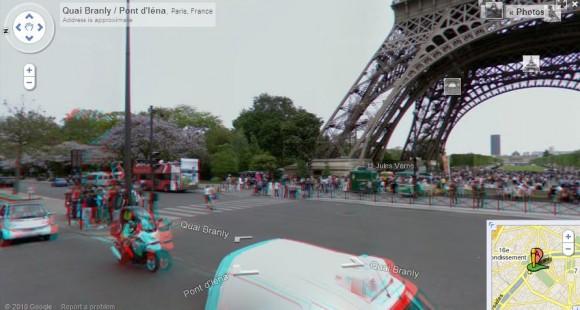 Эйфелева башня 3d