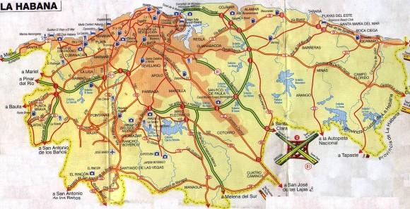 Гавана-карта