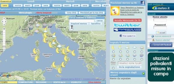 Италия-погода