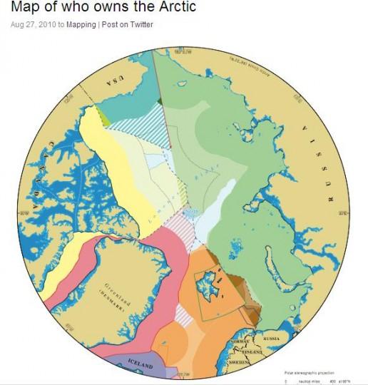 Северный полюс в собственность