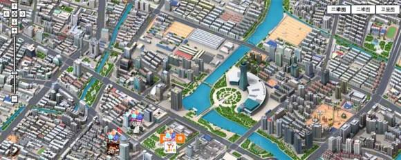 Красивые 3D карты Китая