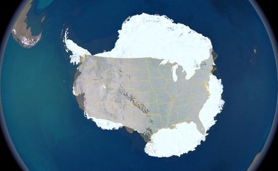 Антарктика и США