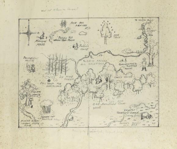 Карта Винни-Пуха