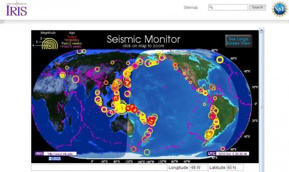 Новые землетрясения