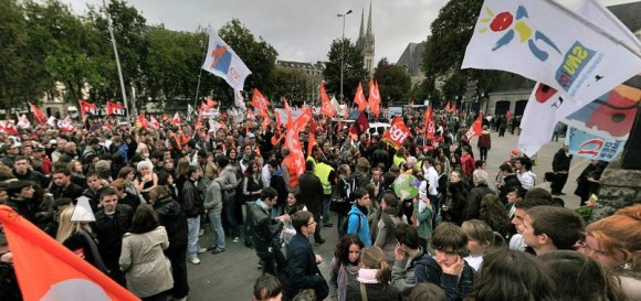 парижские демонстрации