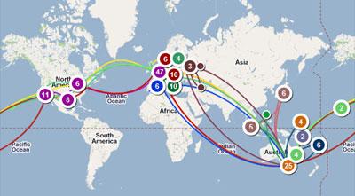 Путешествия | Инфокарт – все карты сети