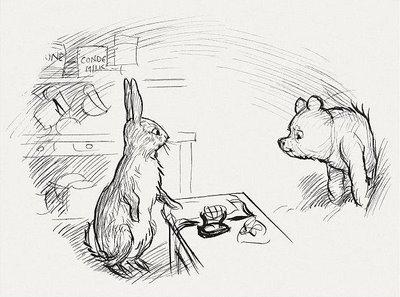 Винни-Пух и кролик