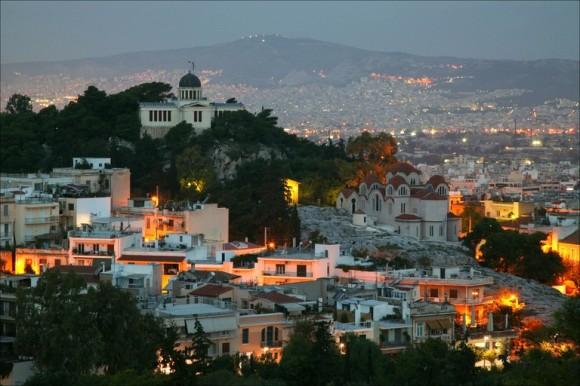 Афины-панорама