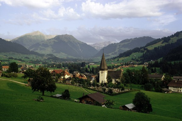 Швейцария-горы