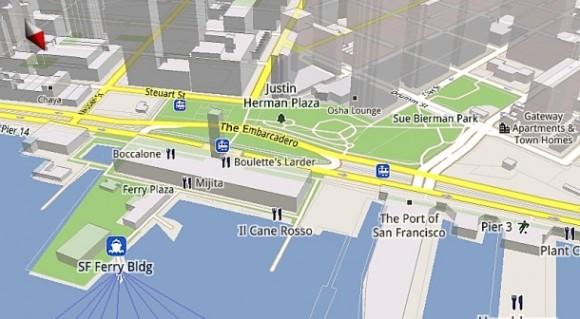 Новая карта Гугл
