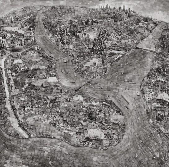 Карта диорама Стамбула