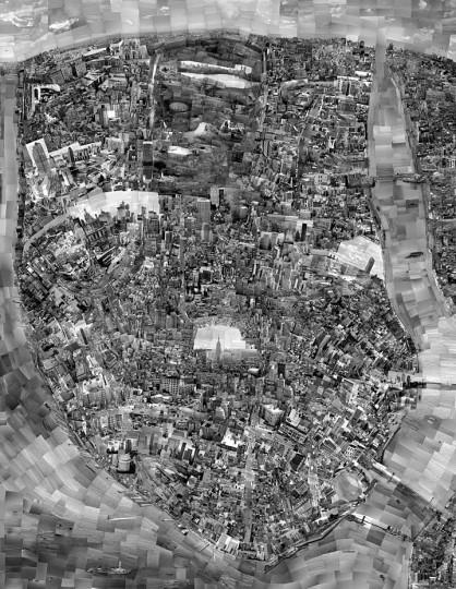 Карта диорама Нью-Йорка