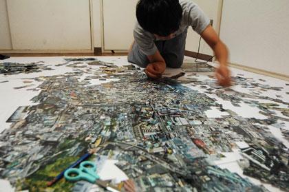 диорамы от Sohei Nishino