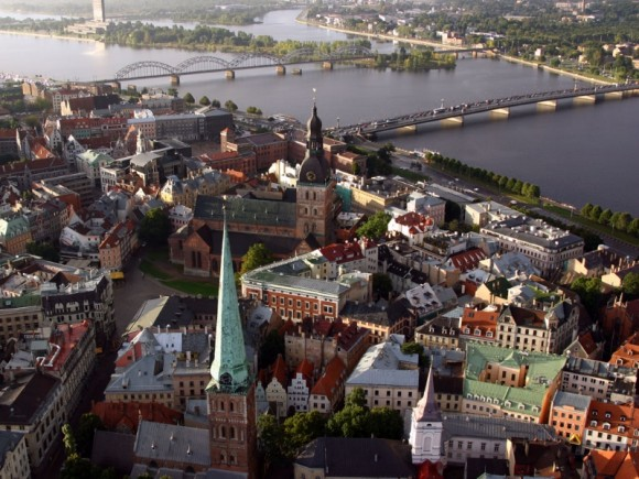Латвия панорама