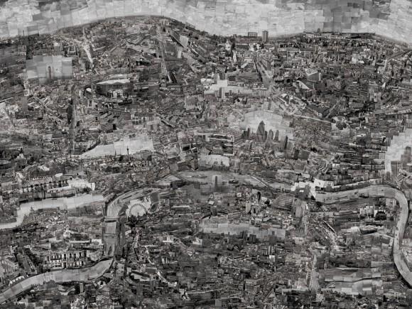 Карта диорама Лондона