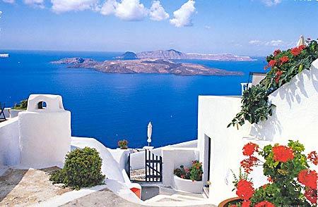 Характерный греческий остров