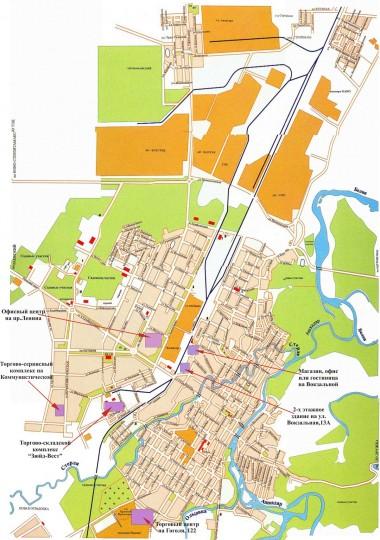 карта города стерлитамака с