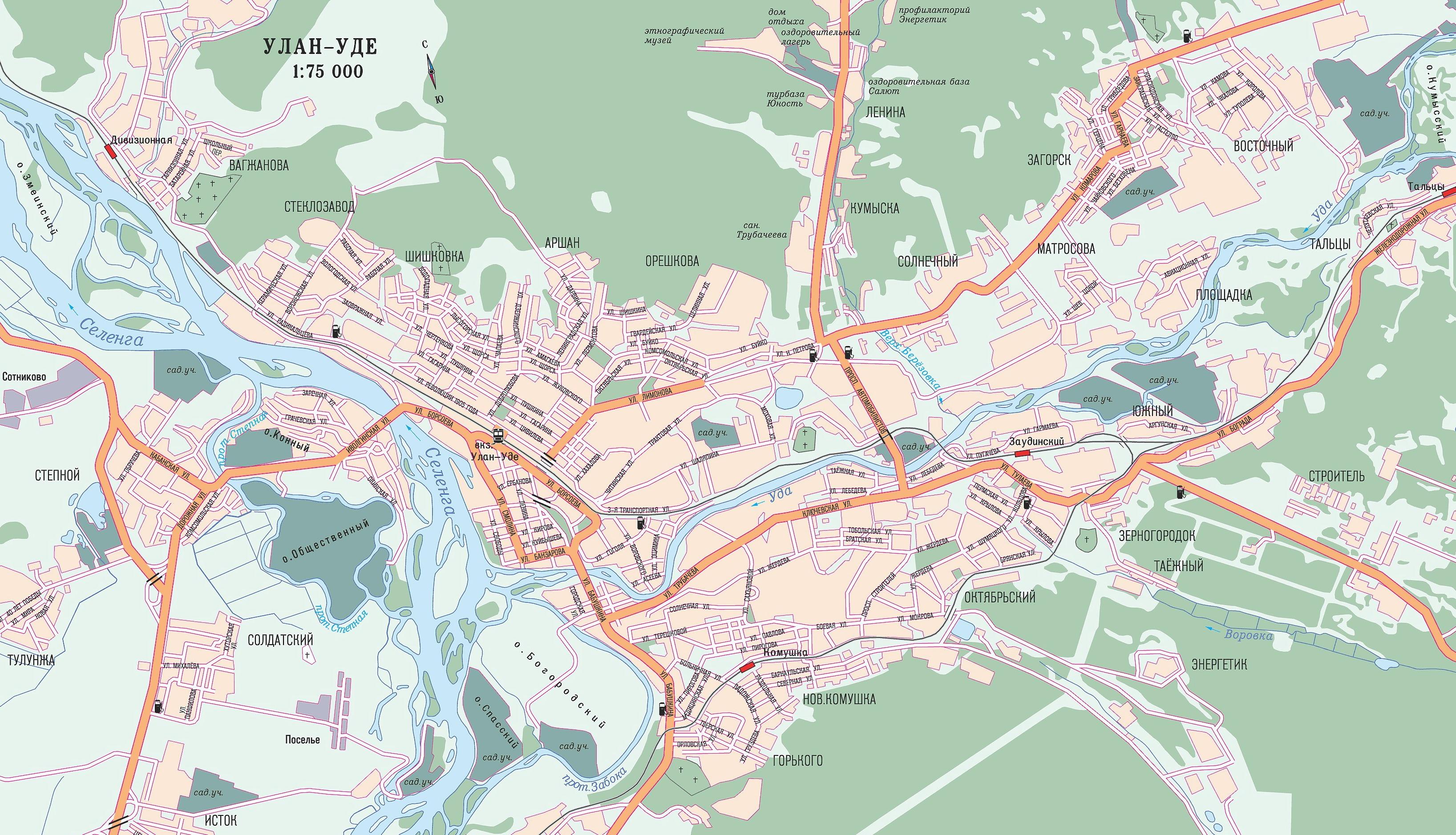 Оренбург на карте россии карты