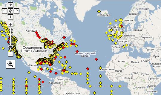 Метеостанции в море