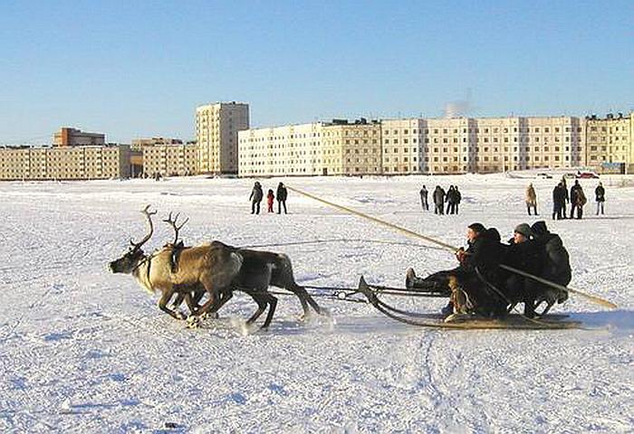 Карта Ямало-Ненецкого округа | Инфокарт – все карты