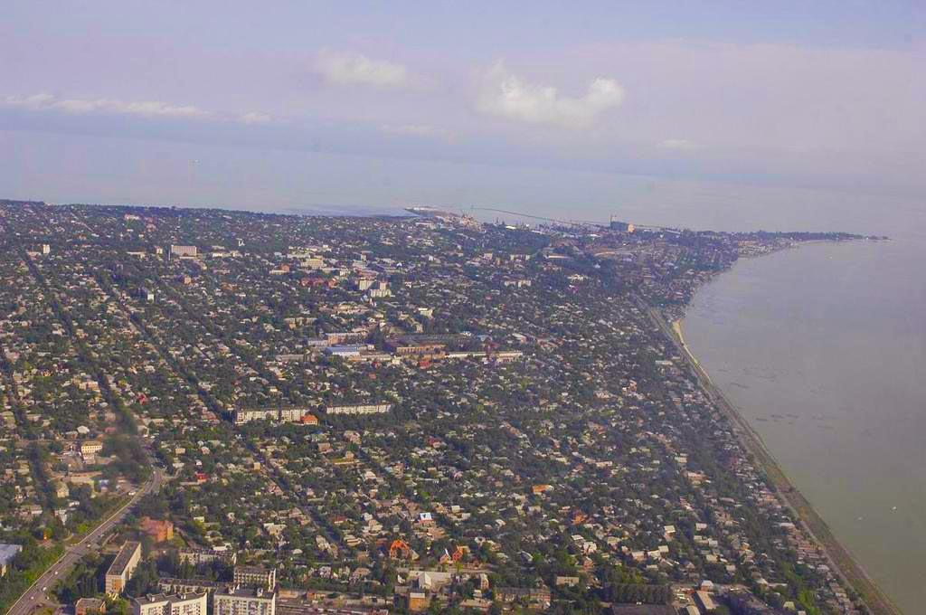 Куйбышев фото со спутника