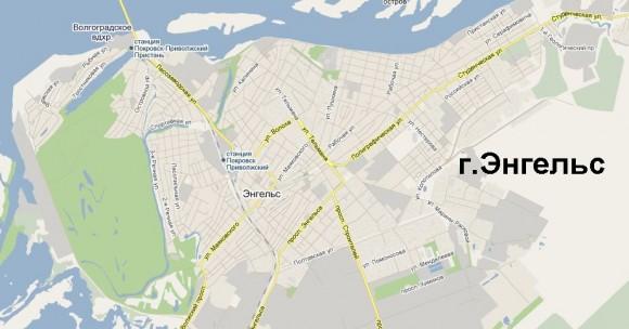 Карта Энгельса