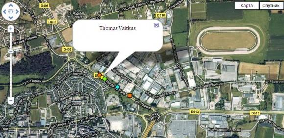 Карта Тур де Франс онлайн в реальном времени