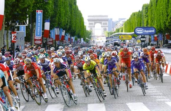 Велосипедисты тур де франс