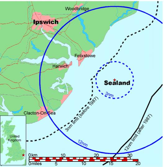 Карта Силенда
