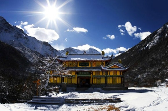 Китай горы