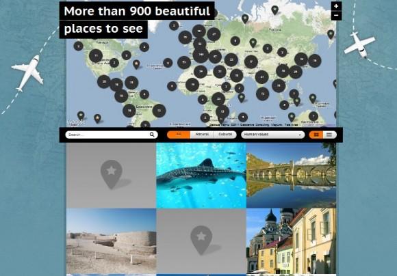 Памятники мира на карте