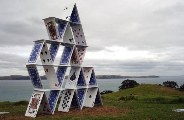 Как построить карточный домик инструкция