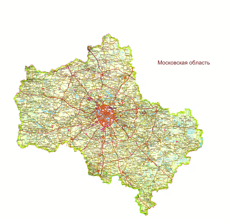 Карты России | Подробная карта России с городами и ...
