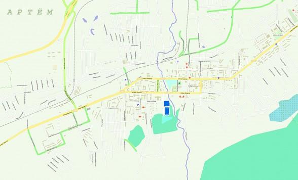 карта г артем
