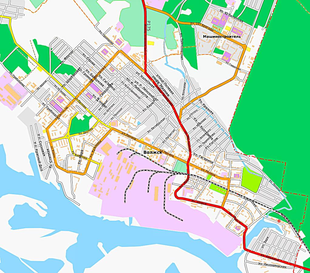 Карта Волжска | Инфокарт – все карты сети: http://www.infokart.ru/karta-volzhska/