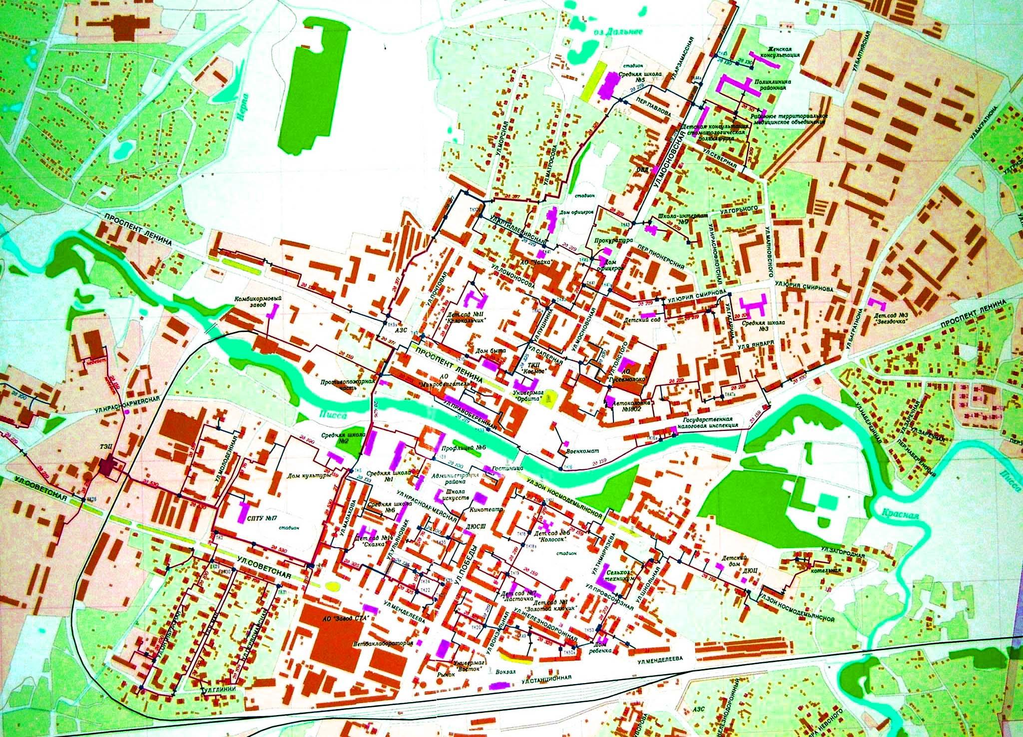карта г гусев калининградская область ул московская 27 посуточно