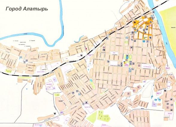 Карта Города Лениногорска С Улицами И Домами