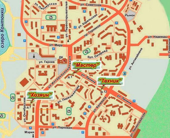 Карта Нефтеюганска С Улицами И Номерами Домов