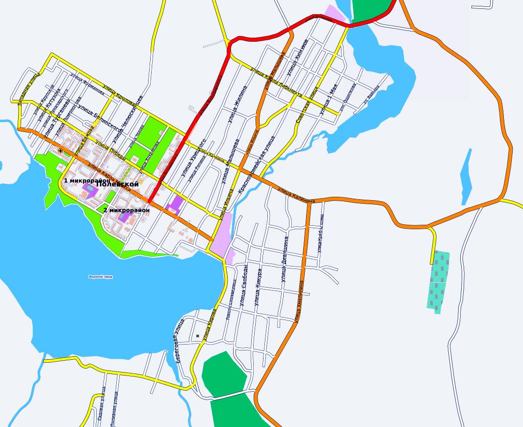Карта Лангепаса С Улицами И Номерами Домов