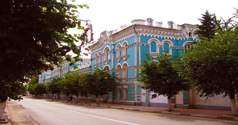 В Серпухове расположено
