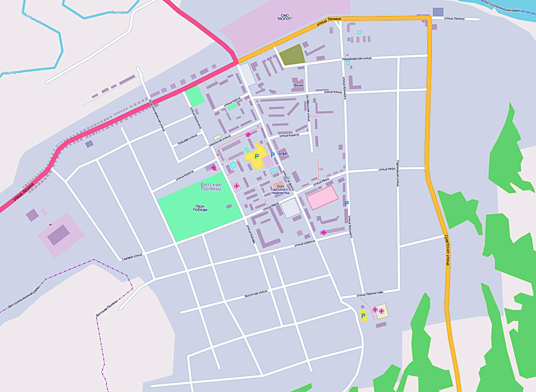 Карта Города Сарапула С Улицами И Номерами Домов