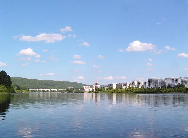 Город Зеленогорск расположен