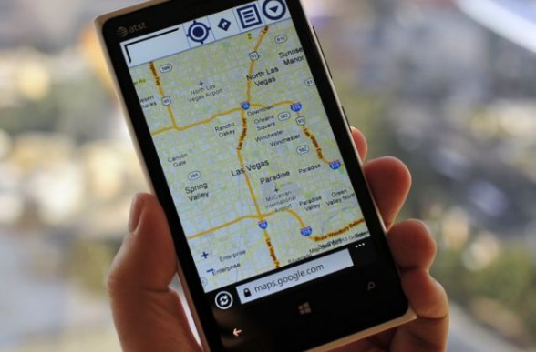 Как работают Google Maps/Latitude на телефонах без GPS