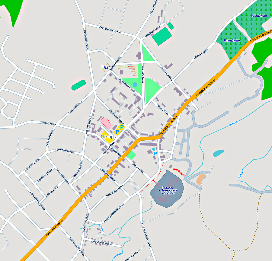 Карта. Карты дорог